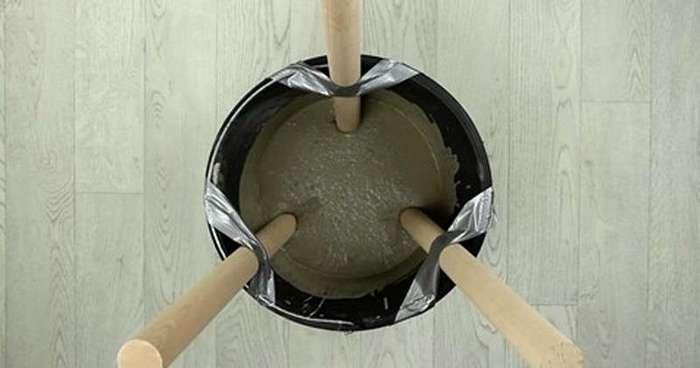 Сделать стул из бетона? Гениально! (6 фото)