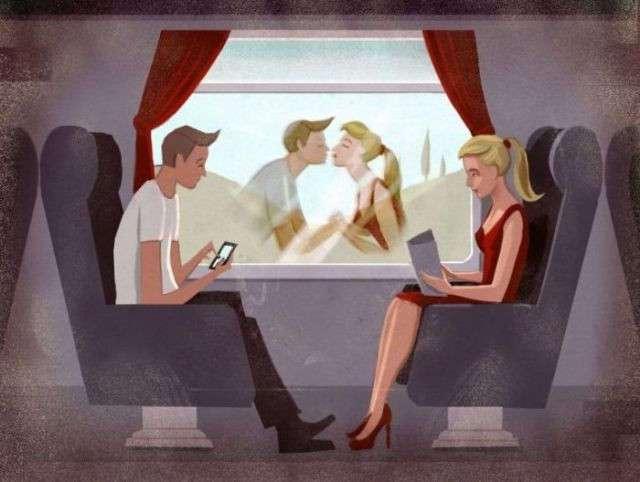 Карикатуры, отражающие современную жизнь (27 фото)