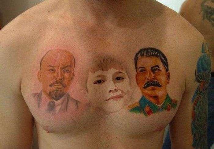 Суровые русские татуировки (29 фото)