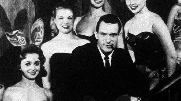 Молодой Хью Хефнер и его очаровашки (20 фото)