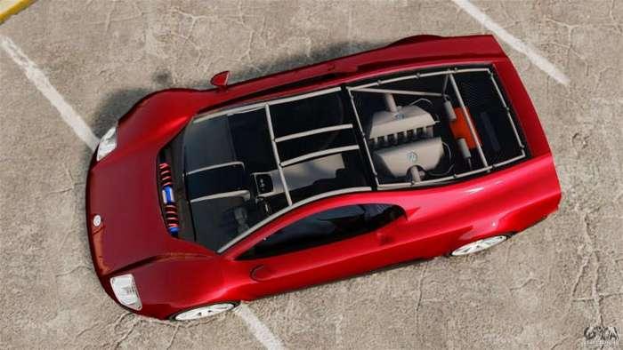Volkswagen W12 - Боевой концепт-кар (9 фото)