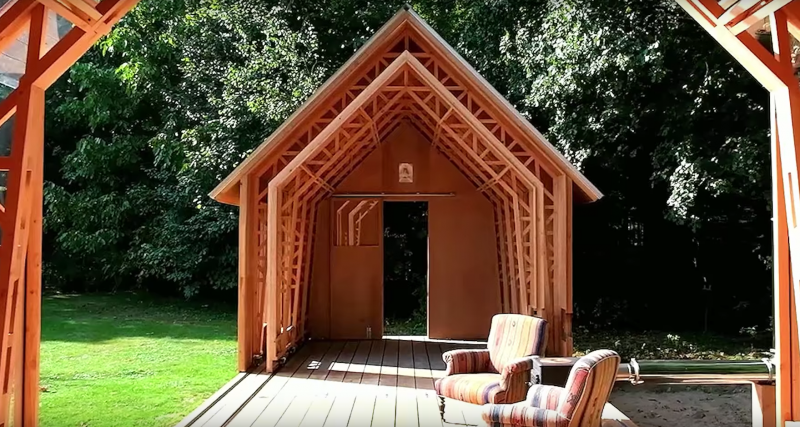 Вы не поверите своим глазам, во что можно превратить этот маленький домик (10 фото)
