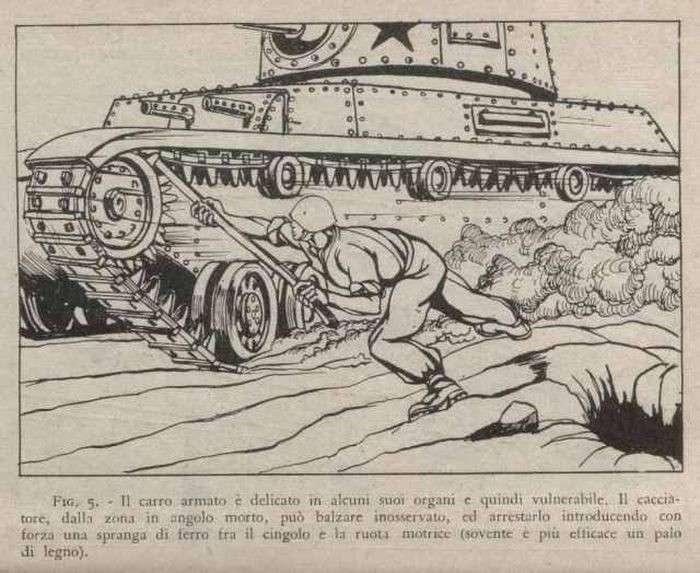 Итальянская инструкция по борьбе с советскими танками (4 фото)