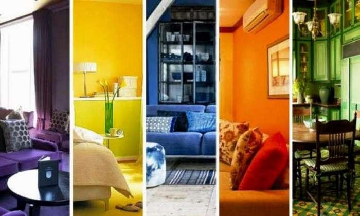 Цвет комнаты изменит вашу жизнь. Секреты счастья!