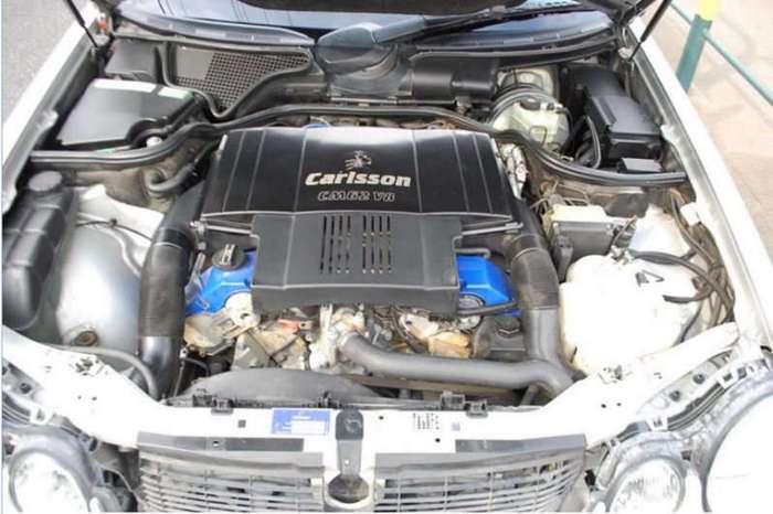 Mercedes W210 Carlsson c Японского аукциона (9 фото)