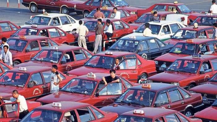 В Китае водителям будут платить за отказ от езды на личной машине (1 фото)