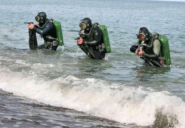 Источник прокомментировал работу российских боевых пловцов в Сирии (3 фото)
