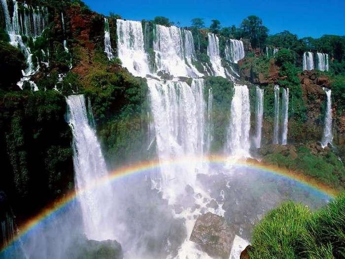 Водопады Игуасу (Аргентина, Бразилия) (24 фото)