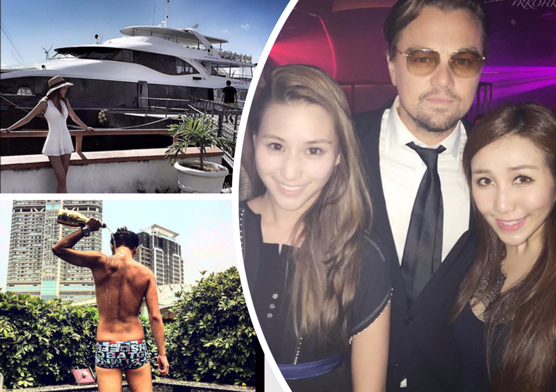 Яхты, джеты и душ из шампанского. Как живут богатенькие дети Гонконга (35 фото)