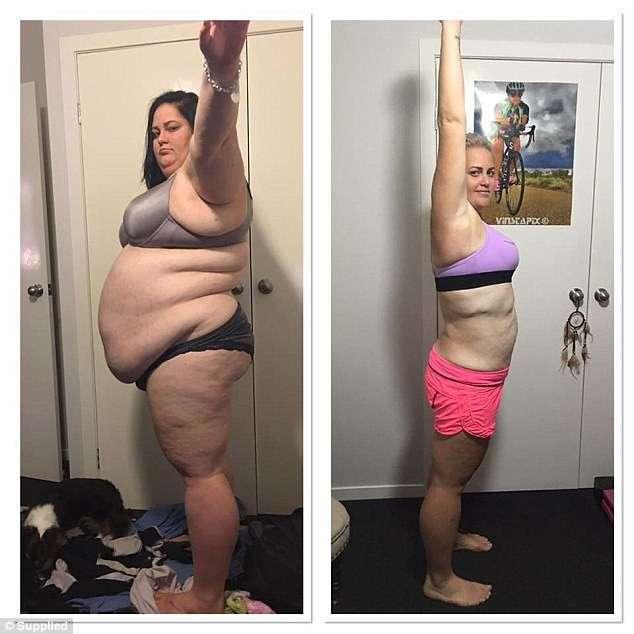Девушка сбросила 115 кило, поменяв фастфуд на триатлон (9 фото)