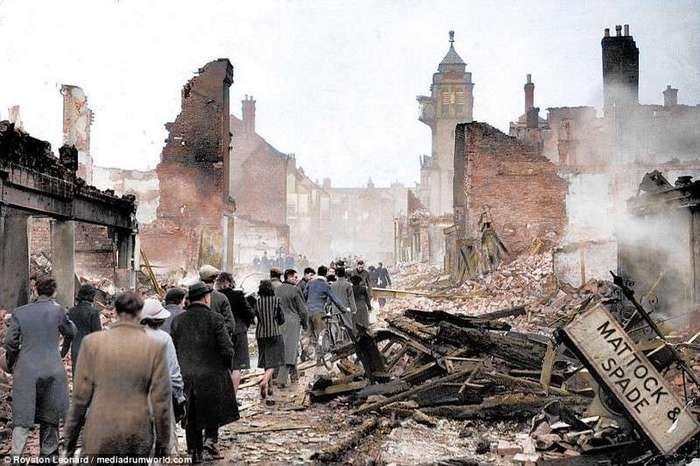 Необычный взгляд на трагическую страницу истории (12 фото)