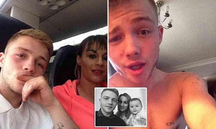 16-летний муж сам принял роды у 31-летней жены (4 фото)