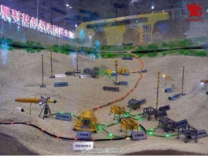-Великая подводная стена- Китая (2 фото)