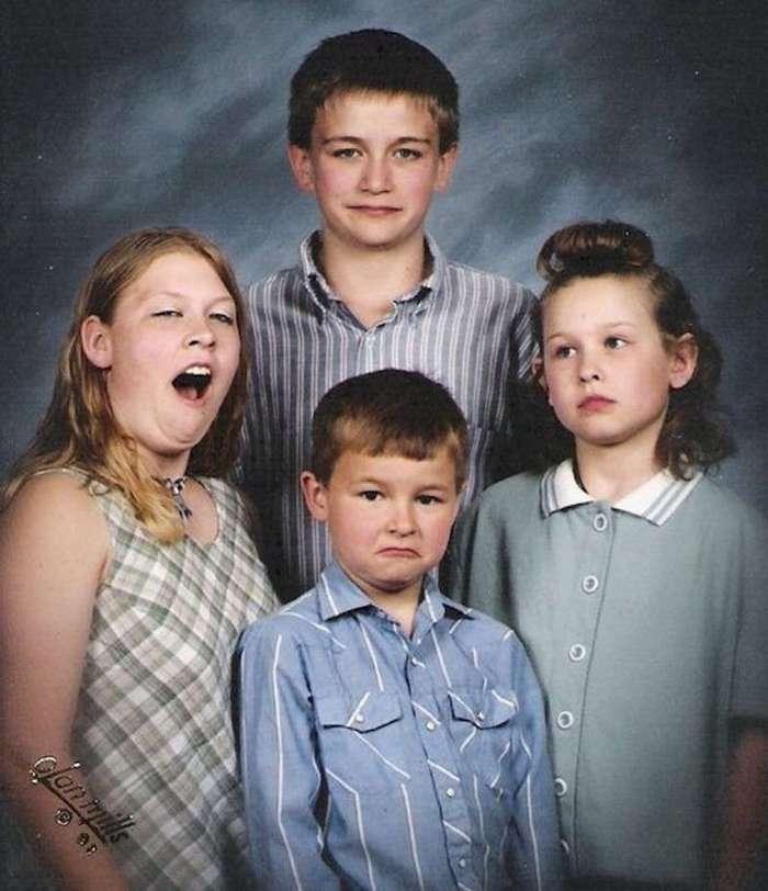 Перлы из семейных альбомов (15 фото)