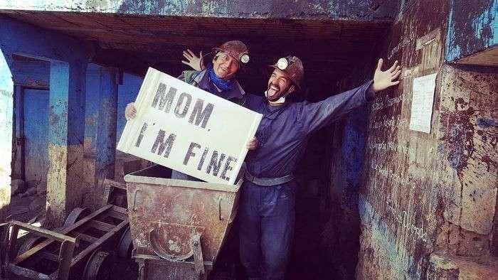 Как безработный путешественник регулярно успокаивает свою маму (28 фото)