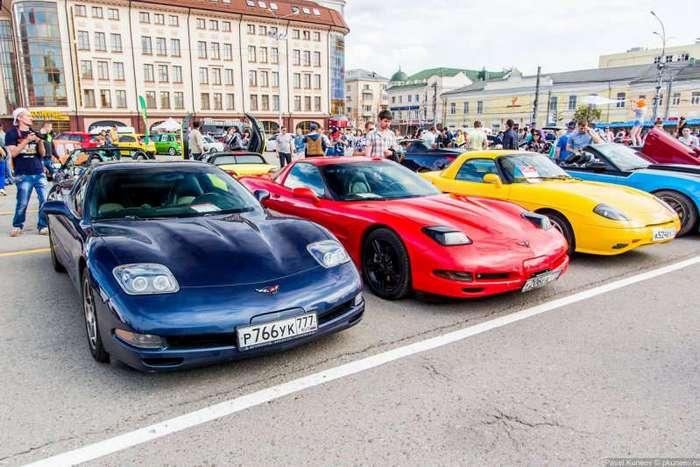 Автомобильный фестиваль -Автострада- 2017 в Туле (100 фото)