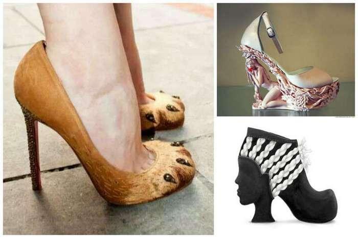 Поистине удивительная и поразительная одежда для ног! (22 фото)