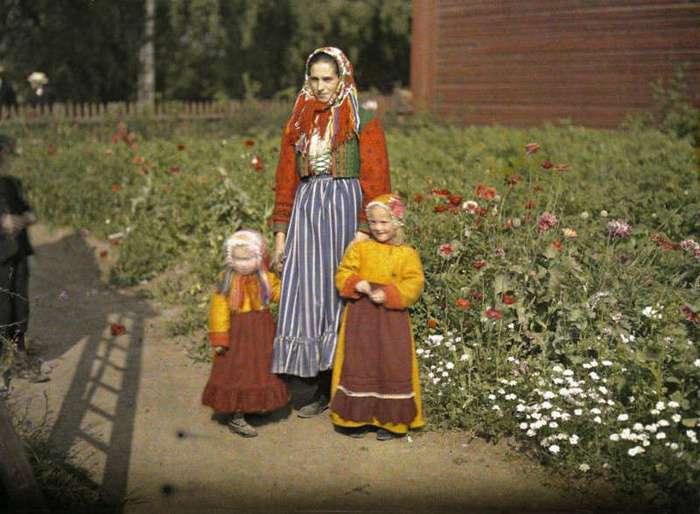 Как выглядел мир сотню лет назад: старейшие из цветных фотографий (31 фото)