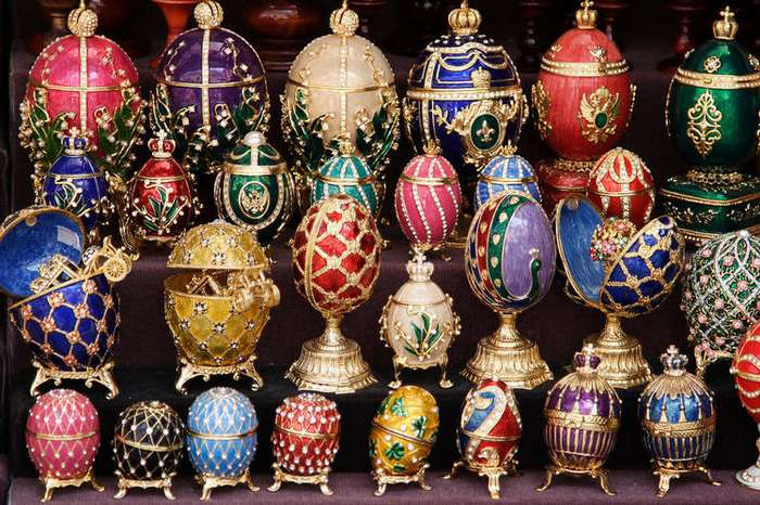 Фаберже и его яйца (16 фото)