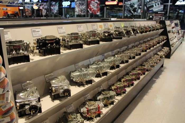 SummitRacing в реальной жизни - экскурсия по Super Store в Атланте (21 фото)