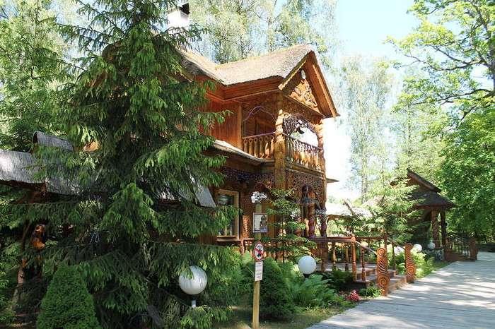 Беловежская пуща и Летний Дед Мороз (41 фото)