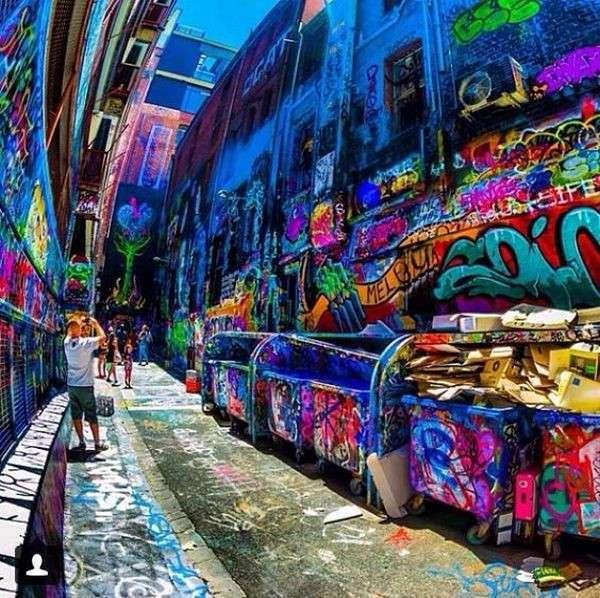 Город граффити и стрит-арта (33 фото)