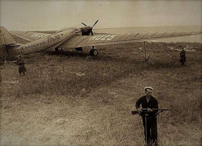 Трасса через полюс. Как Валерий Чкалов совершил новое открытие Америки (20 фото)