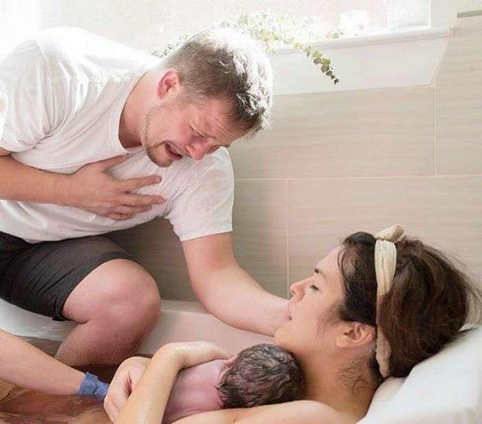 Счастье отцовства: самые трогательные фотографии пап (39 фото)