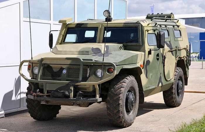 Бронеавтомобиль многоцелевого назначения -Тигр-М- (2 фото)