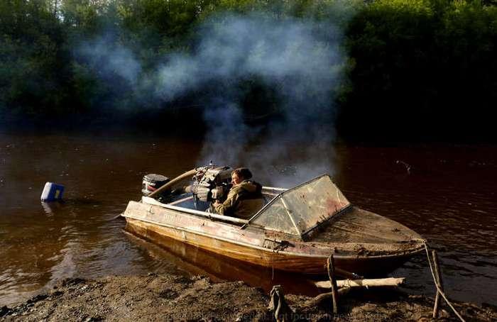 Охотники на мамонтов: черные копатели Сибири (38 фото)