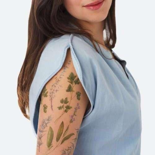 Временные ароматные татуировки от Tattly (9 фото)