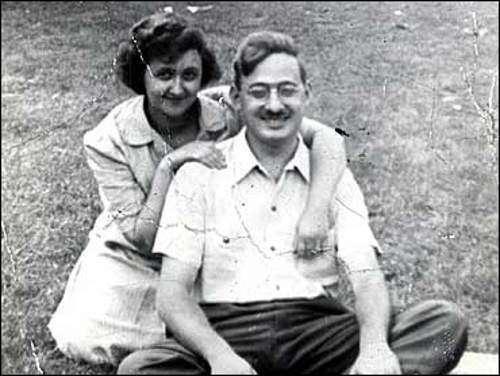 Юлиус и Этель Розенберг (10 фото)