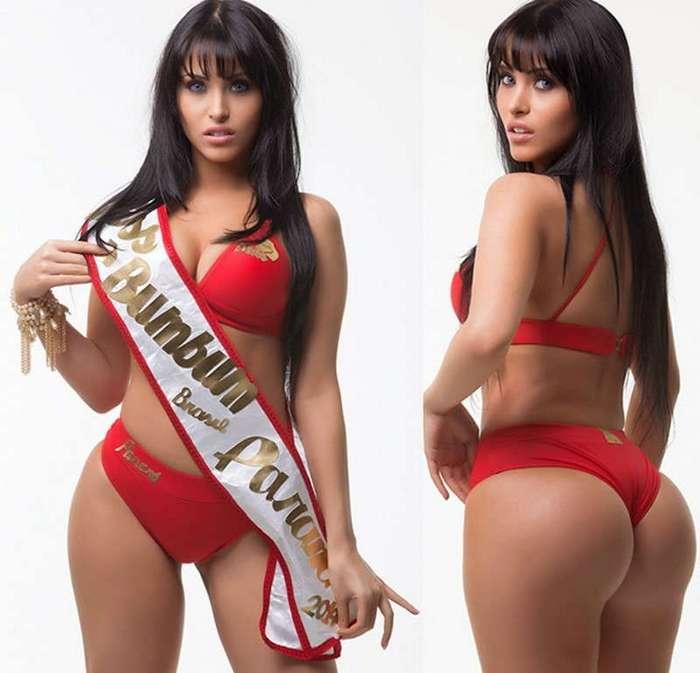 Финалистки конкурса -Мисс Бразильские ягодицы (15 фото)