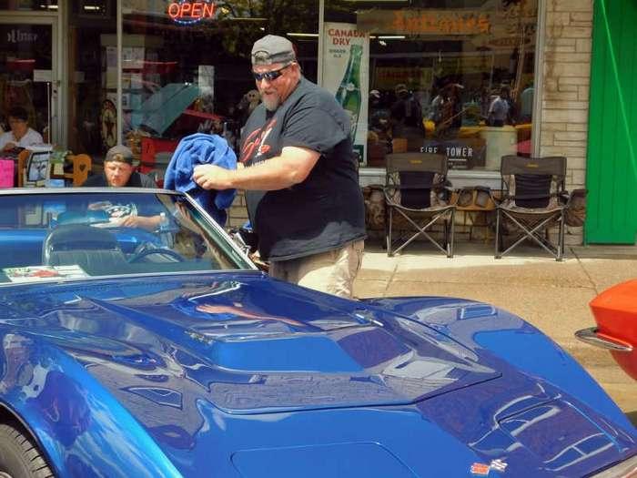 Выставка ретро-автомобилей в штате Висконсин (48 фото)