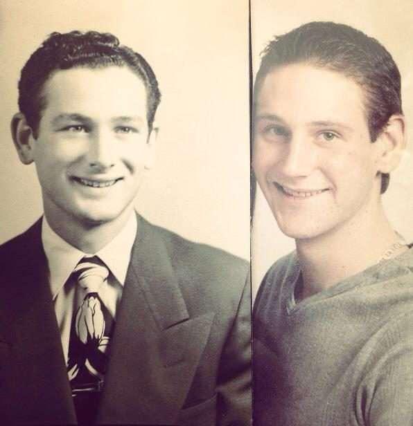 Эти родственники разных поколений выглядят как двойники. Генетика - страшная сила!