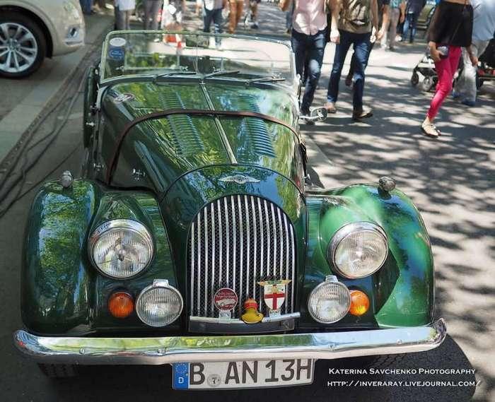 Выставка олдтаймеров в Берлине (22 фото)