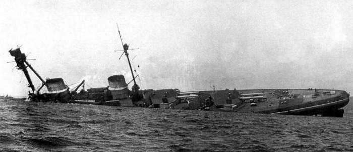 21 июня 1919 года - последние жертвы Первой мировой войны (4 фото)