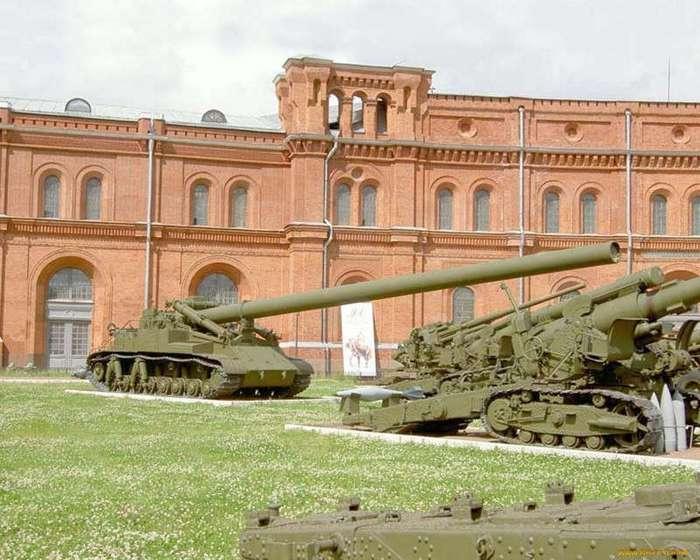 Самые большие пушки за всю историю человечества (10 фото)