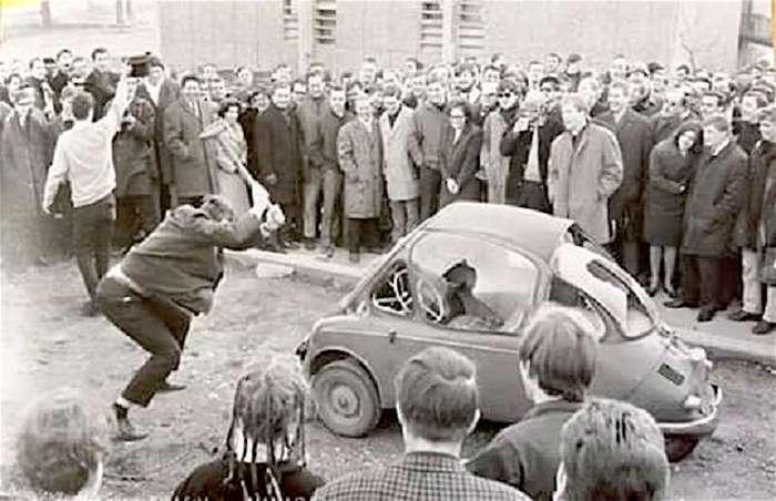 Isetta - самый мимимишный автомобиль в истории (9 фото)