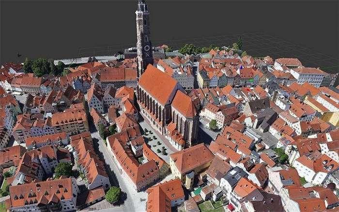 Elektra One Solar способен создать 3D-карту города (12 фото)