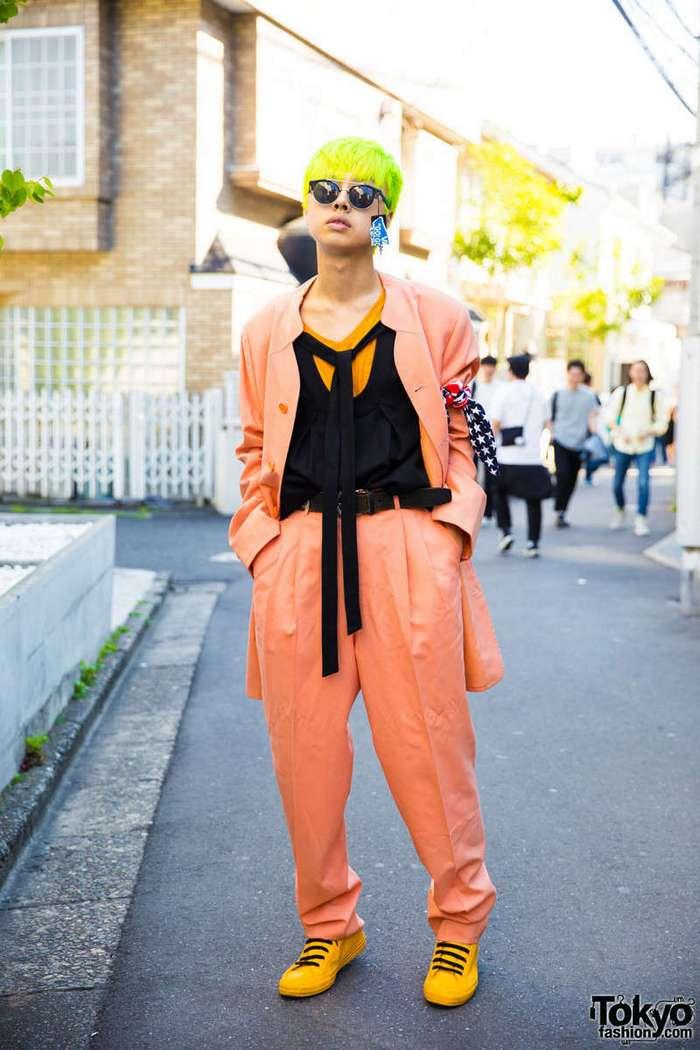 Модные персонажи на улицах Токио (31 фото)