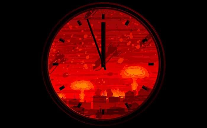 Часы Судного дня (Часы Апокалипсиса) (6 фото)