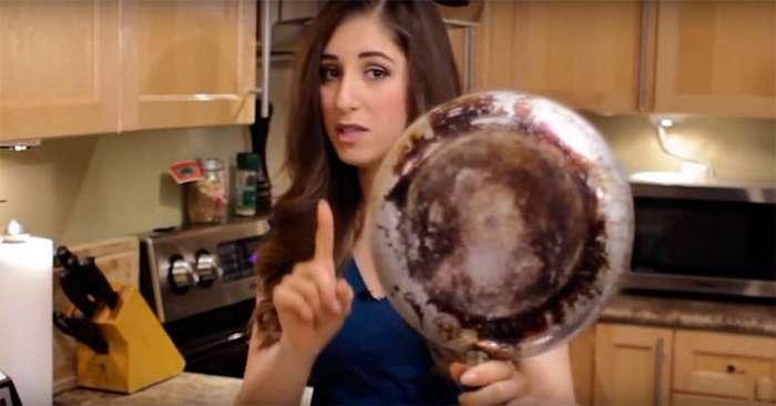 Полезные советы для кухни: как очистить дно кастрюль и сковородок от нагара
