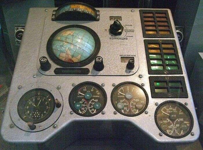 Навигационное оборудование космического корабля Восход (6 фото)