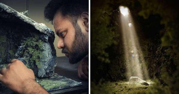 Фотограф воссоздает фантастические места из собственных снов (12 фото)