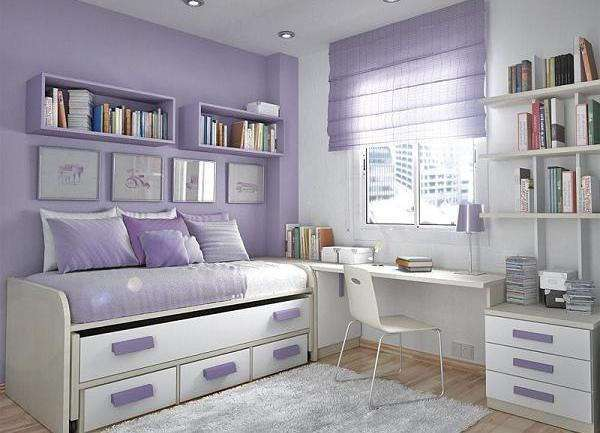 35 крутых идей обустройства маленькой комнаты