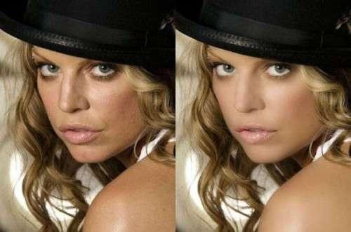 30 фотографий звезд до и после фотошопа