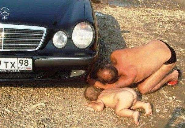 Когда батя берется за воспитание ребенка! (34 фото)