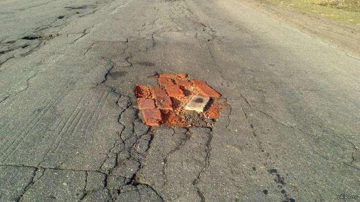 Дороги действительно могут быть плохими (20 фото)