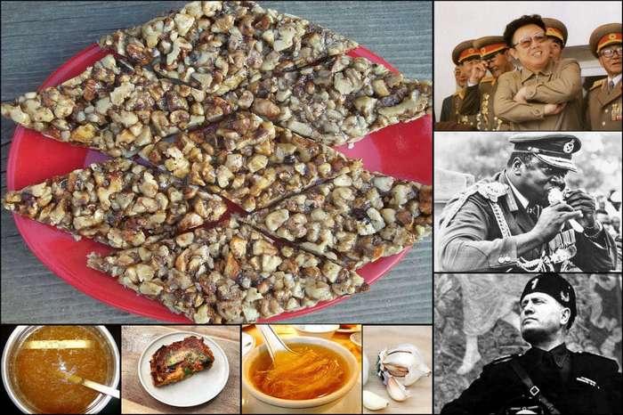 Любимая еда и пищевые привычки семи безжалостных диктаторов (8 фото)